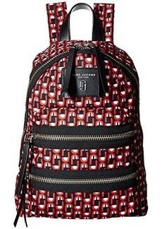 Marc Jacobs Logo Scream Printed Biker Mini Backpack