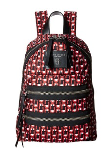 Marc Jacobs Logo Scream Printed Biker Mini Backpack
