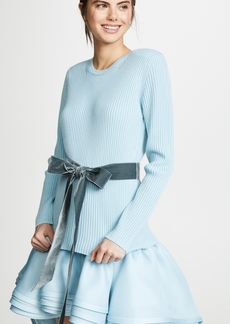 Marc Jacobs Long Sleeve Crew Sweater