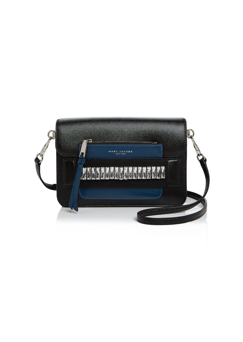 519a7dee65d8 Marc Jacobs MARC JACOBS Madison Medium Embellished Saffiano Leather ...