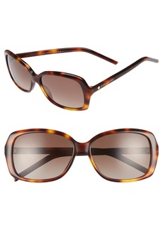 MARC JACOBS Marc 57mm Polarized Sunglasses