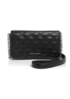 MARC JACOBS Matelasse Wallet On Chain Crossbody