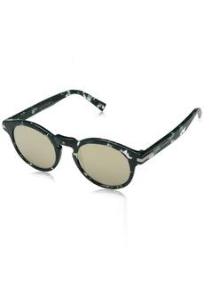 Marc Jacobs Men's Marc184s Round Sunglasses HAVGREEN