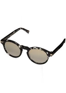 Marc Jacobs Men's Marc184s Round Sunglasses HVNBLKCRY