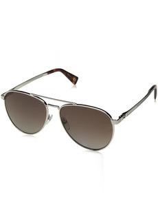 Marc Jacobs Men's Marc240s Polarized Aviator Sunglasses LGH Gold 59 mm