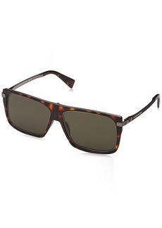Marc Jacobs Men's MARC242/S Rectangular Sunglasses Dark HAVANA