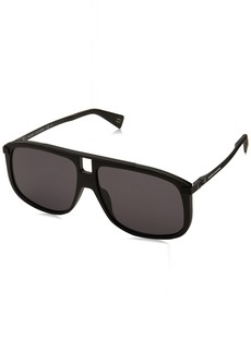 Marc Jacobs Men's Marc243s Square Sunglasses MTT Black 60 mm