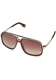 Marc Jacobs Men's Marc265s Rectangular Sunglasses DKHAVANA 60 mm