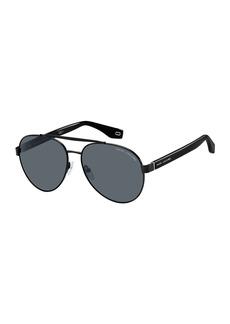 The Marc Jacobs Metal Aviator Sunglasses