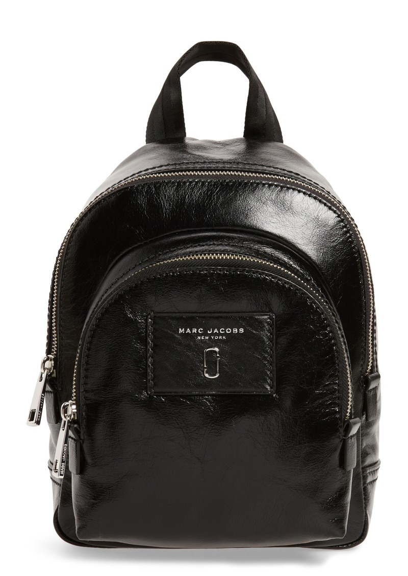 2498309663f Marc Jacobs MARC JACOBS Mini Double Pack Leather Backpack