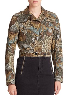 Marc Jacobs Mini Printed Military Jacket