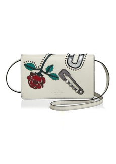 MARC JACOBS MJ Collage Wallet Crossbody