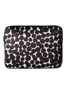"Marc Jacobs Neoprene Graphic Painted Dots Tech 13"" Computer Case"