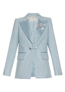 Marc Jacobs Oversized-lapel tuxedo jacket