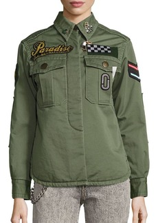 Marc Jacobs Paradise Military Jacket