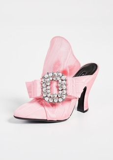 Marc Jacobs Imitation Pearl Embellished Mules