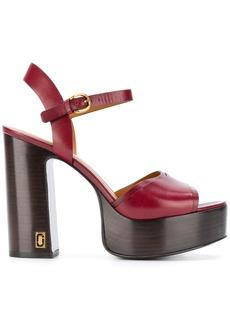 Marc Jacobs platform sandals - Pink & Purple