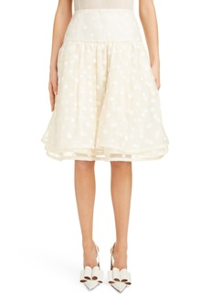MARC JACOBS Polka Dot A-Line Skirt