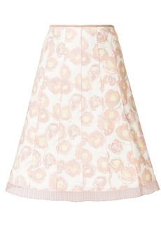 Marc Jacobs printed A-line skirt - Multicolour
