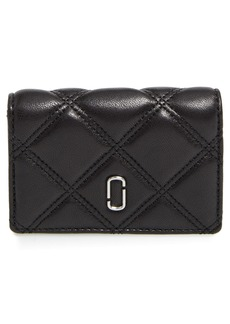 MARC JACOBS Quilted French Wallet