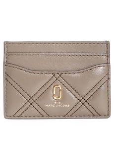 The Marc Jacobs Quilted Leather Card Case