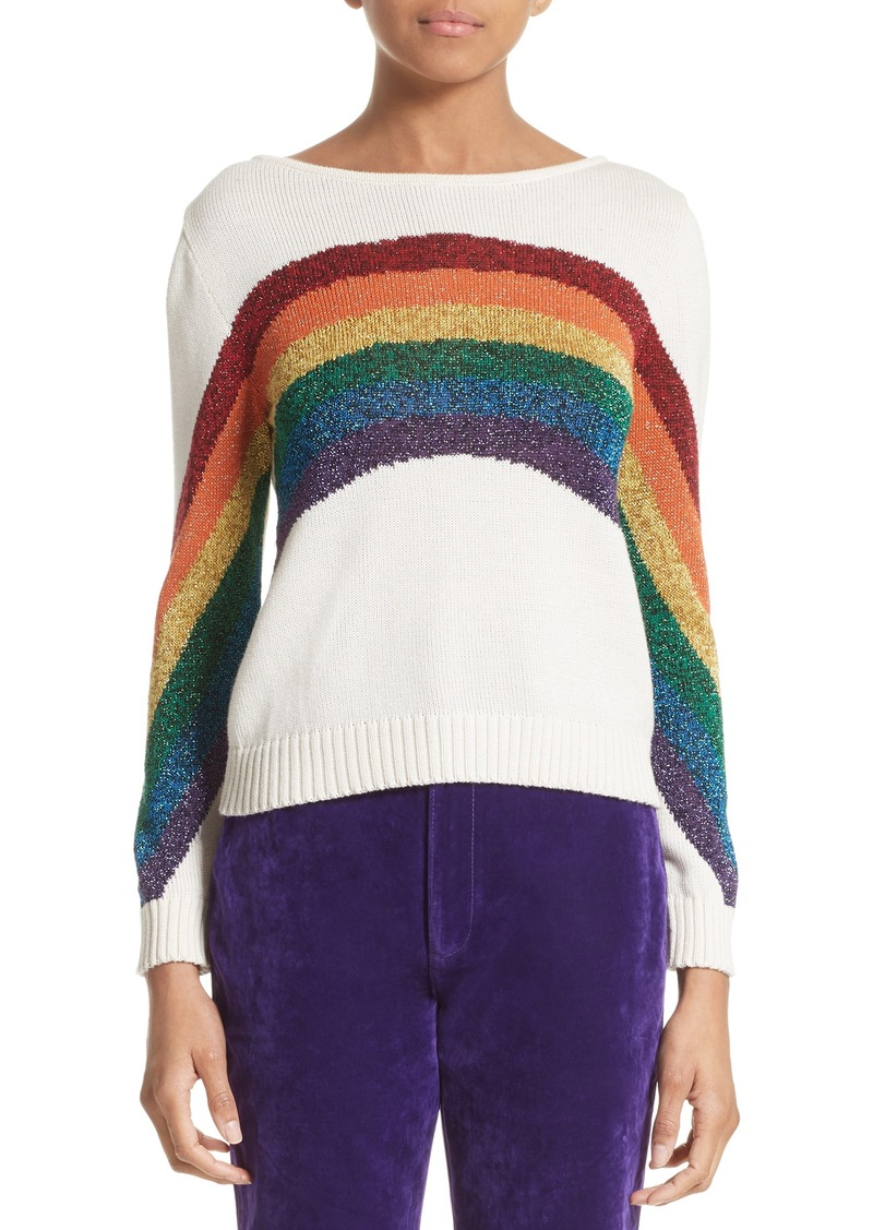 Marc Jacobs MARC JACOBS Rainbow Cotton Blend Sweater | Sweaters ...