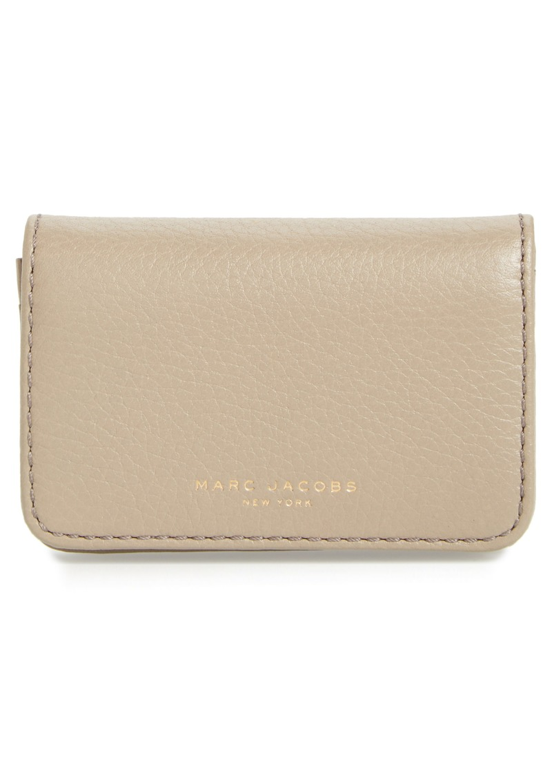 Marc Jacobs MARC JACOBS Recruit Leather Business Card Case | Handbags