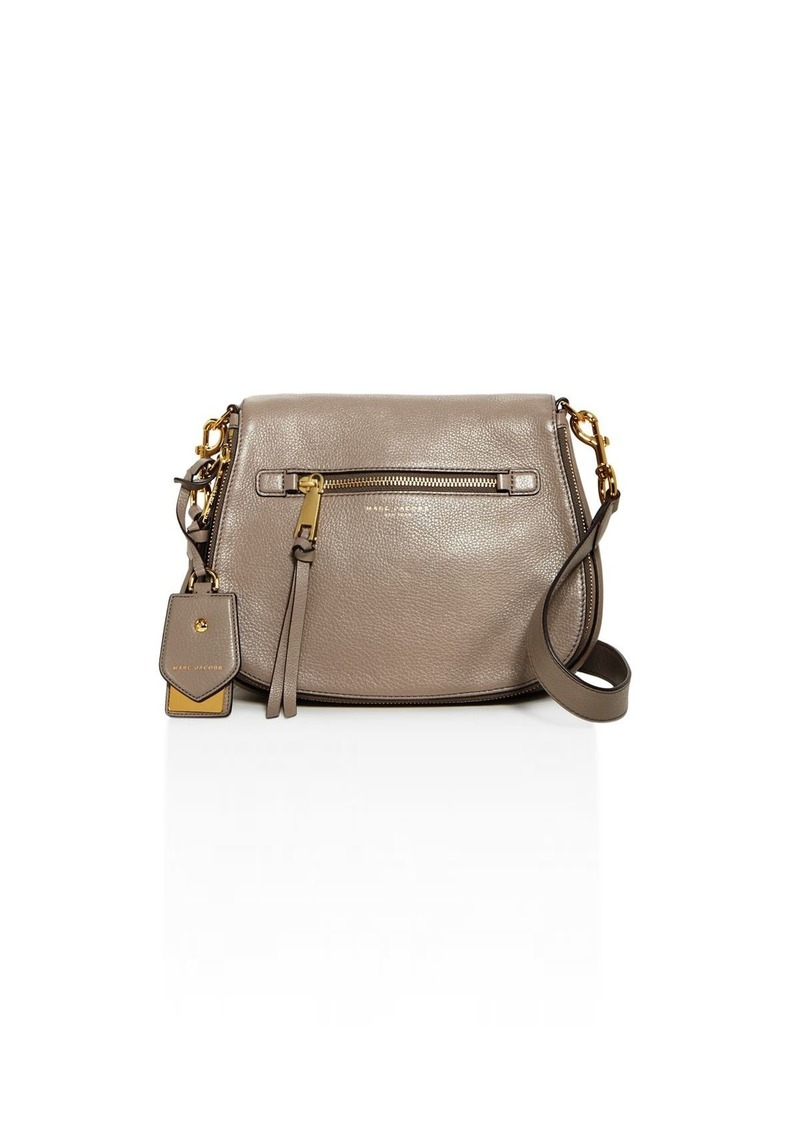 21ec9d24520a Marc Jacobs MARC JACOBS Recruit Nomad Leather Saddle Bag