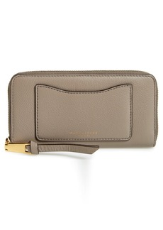 MARC JACOBS 'Recruit Vertical' Leather Wallet