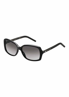 Rectangular Gradient Sunglasses