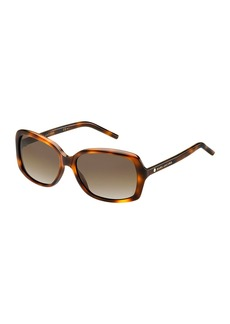 Marc Jacobs Rectangular Polarized Sunglasses
