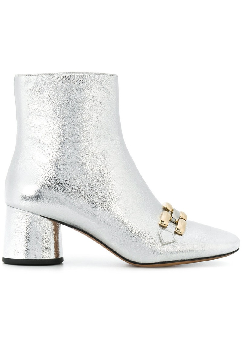 b2b99c65e69 Marc Jacobs Marc Jacobs Remi Chain Link ankle boots - Grey