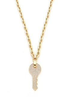Marc Jacobs Respect Key Long Necklace