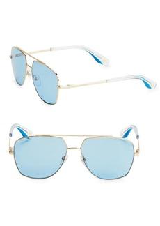 Marc Jacobs Retro Vintage 58MM Aviator Sunglasses