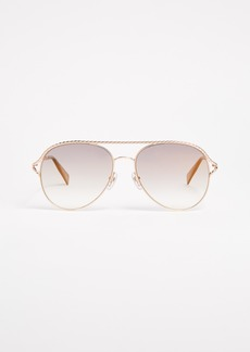 Marc Jacobs Rope Aviator Sunglasses