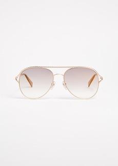 Marc Jacobs Rope Aviator Sunglasses