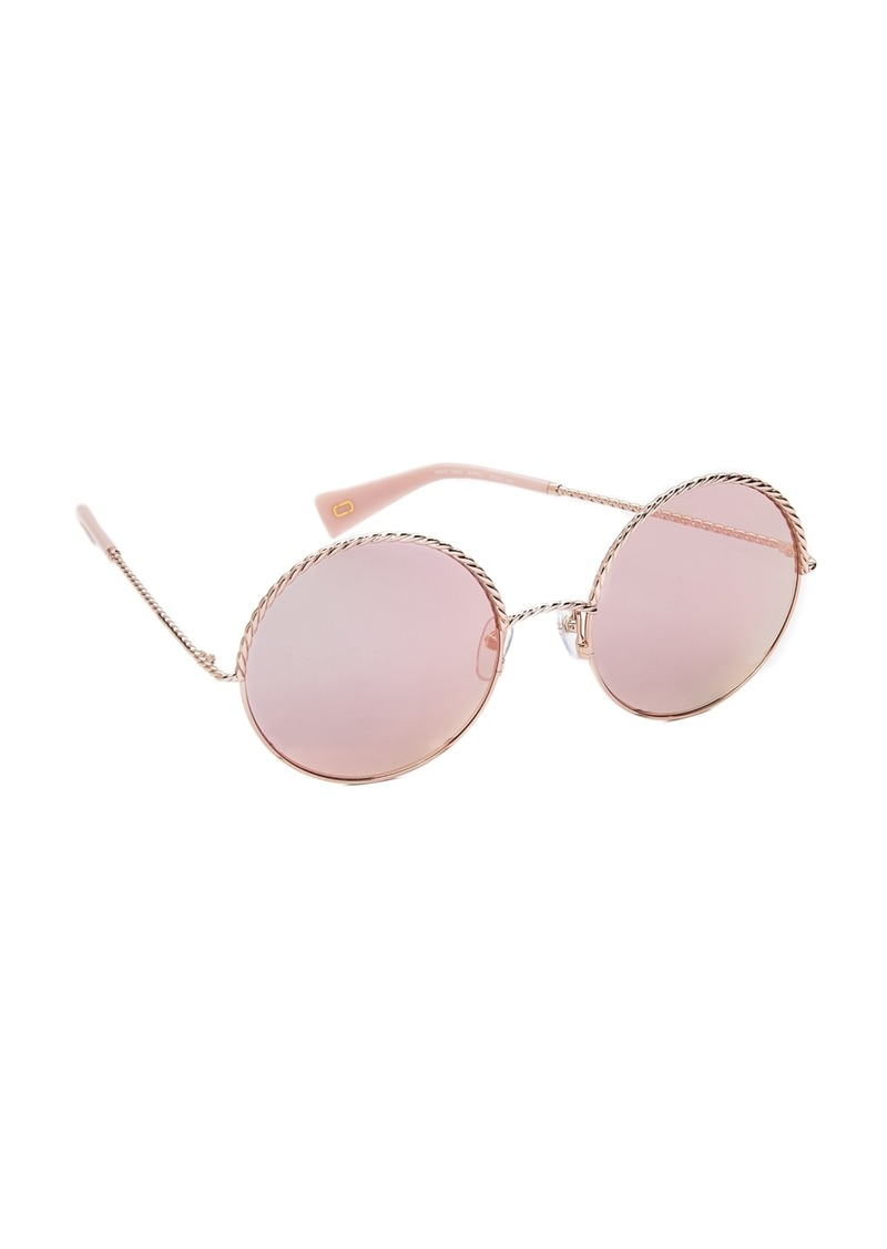f643b0e4e2d4 On Sale today! Marc Jacobs Marc Jacobs Rope Round Sunglasses