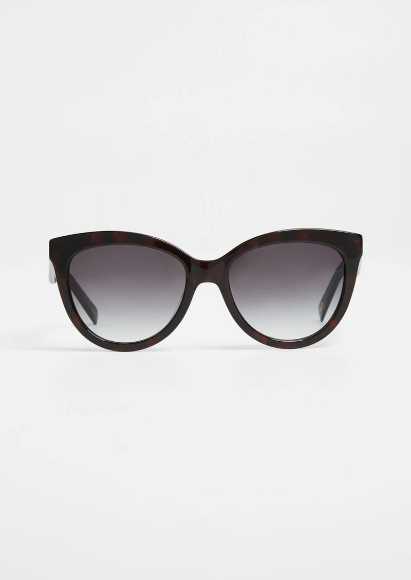 b864a90460e6 On Sale today! Marc Jacobs Marc Jacobs Round Slight Cat Eye Sunglasses