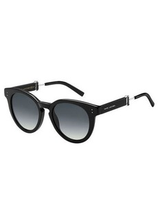 Marc Jacobs Rounded Square Gradient Acetate Sunglasses