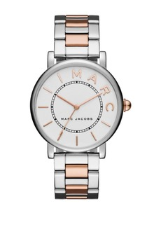 Marc Jacobs Classic Two Tone Stainless Steel Bracelet Watch