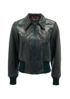 Marc Jacobs Runway Leather bomber jacket