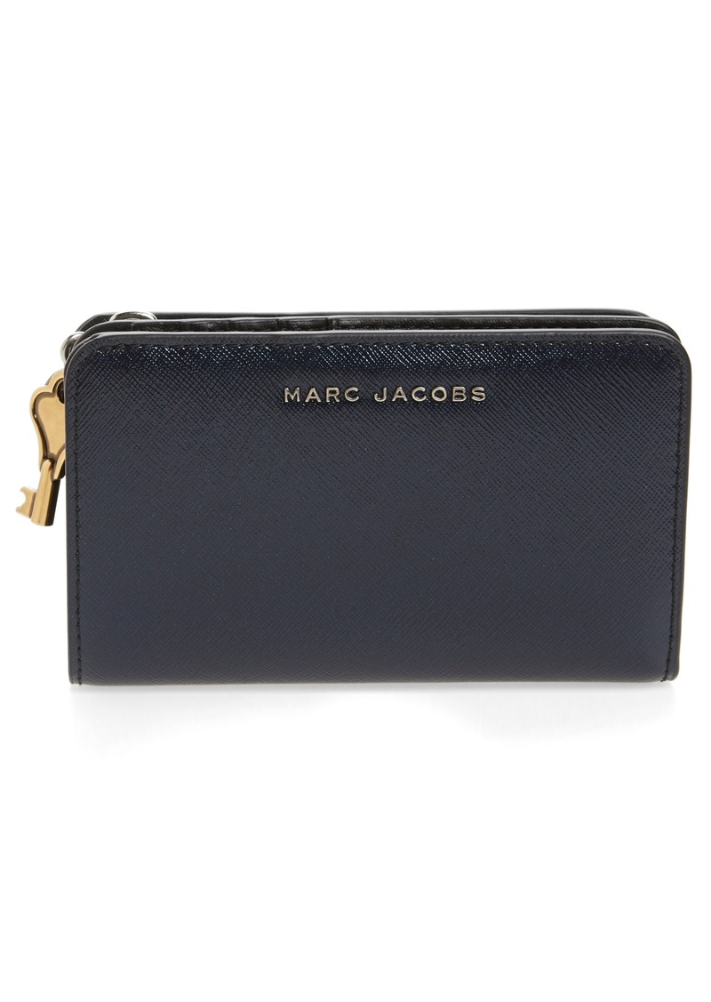 Marc Jacobs MARC JACOBS Saffiano Leather Compact Wallet | Handbags ... : marc jacobs quilted wallet - Adamdwight.com
