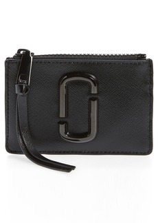 THE MARC JACOBS Saffiano Leather ID Wallet