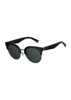 Marc Jacobs Semi-Rimless Cat-Eye Acetate Sunglasses