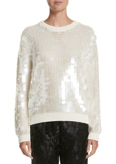 MARC JACOBS Sequin Wool Sweater