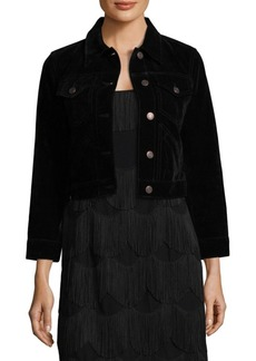 Marc Jacobs Shrunken Velvet Jacket