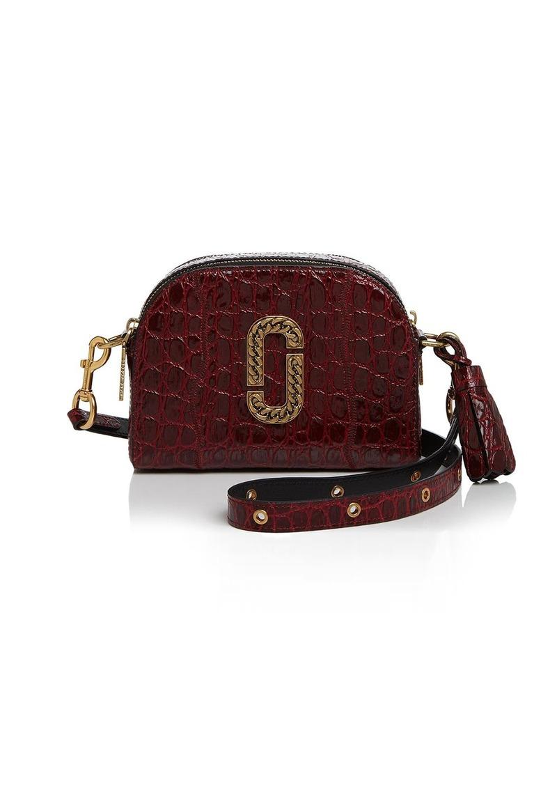 88abda46fc93 Marc Jacobs MARC JACOBS Shutter Croc-Embossed Leather Camera Bag ...