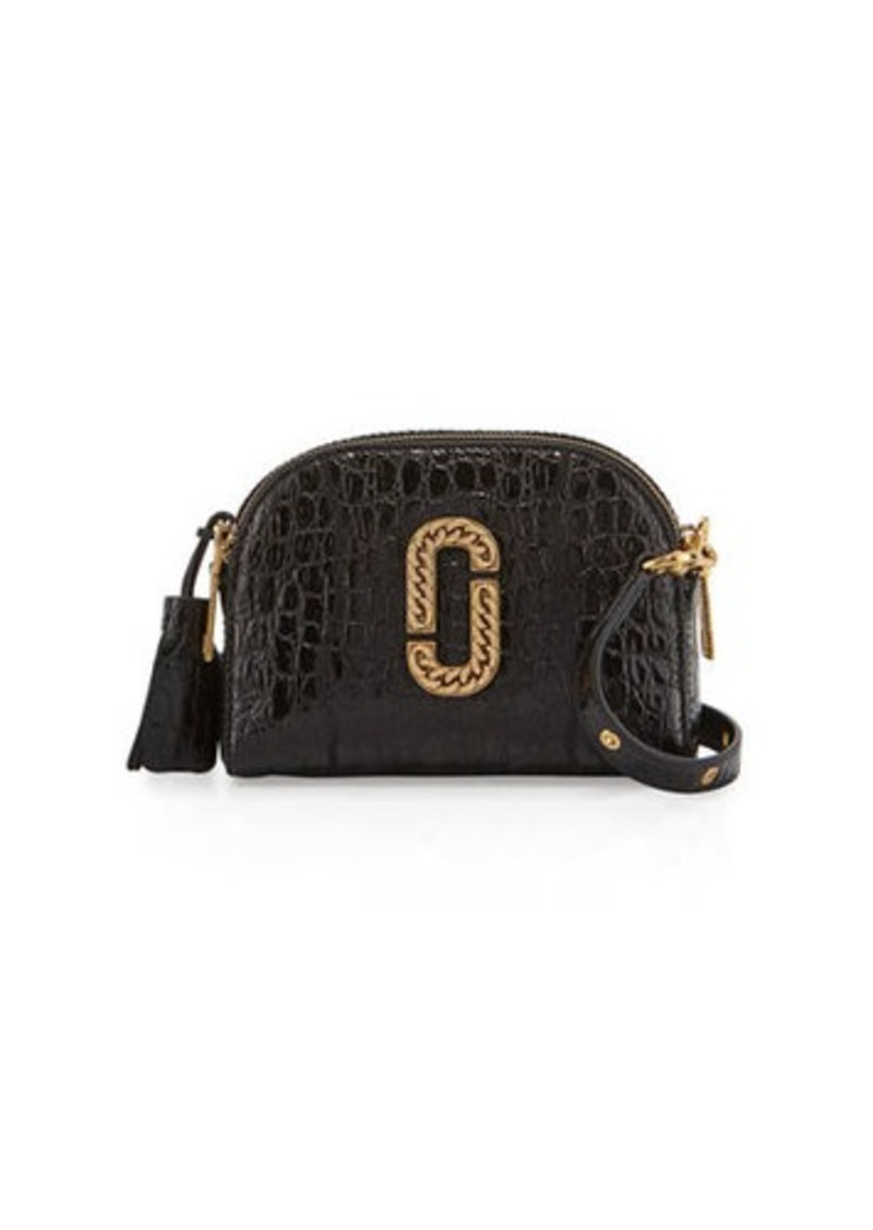 4e52341963a6 Marc Jacobs Marc Jacobs Shutter Small Crocodile-Embossed Camera Bag ...
