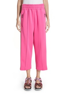 MARC JACOBS Side Stripe Crop Track Pants