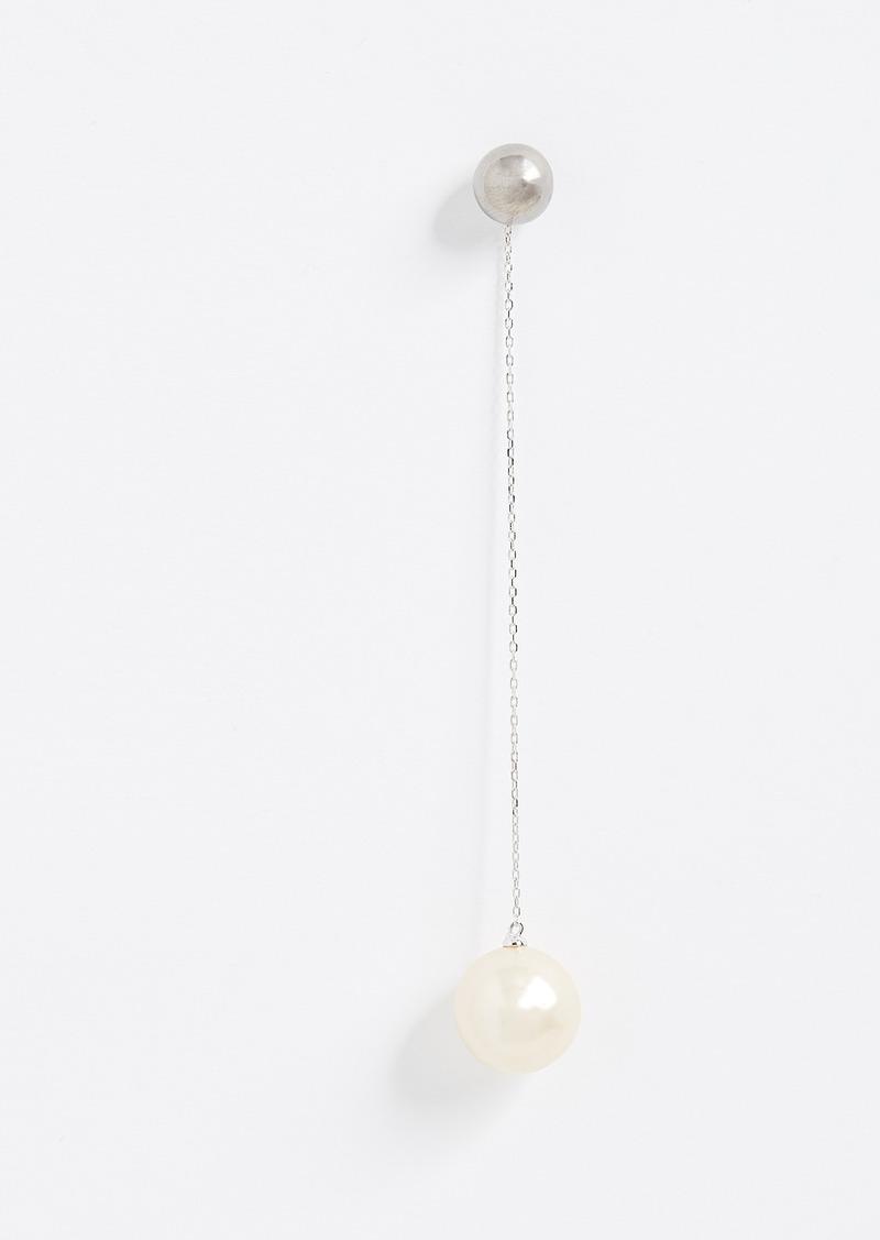 Marc Jacobs Single Pearl Drop Earring